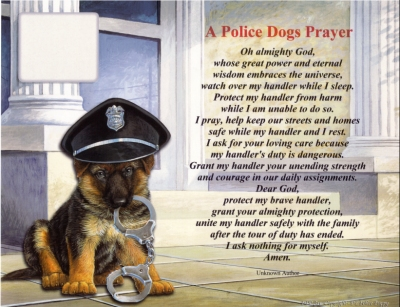 A Police Dog S Prayer K9 Pride